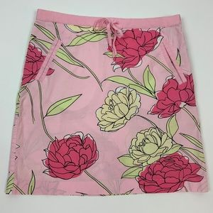 Ann Taylor LOFT Casual Skirt Size 4 Pink Floral